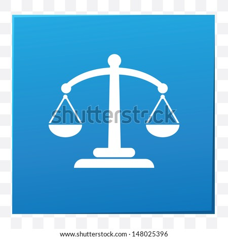 Scales of justice,vector - stock vector
