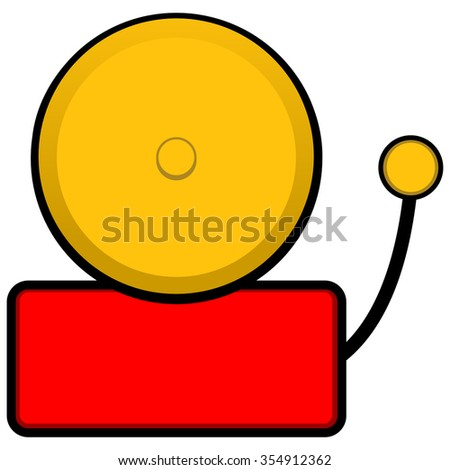 Liberty Bell Illustration Stock Vector 354893990 ...