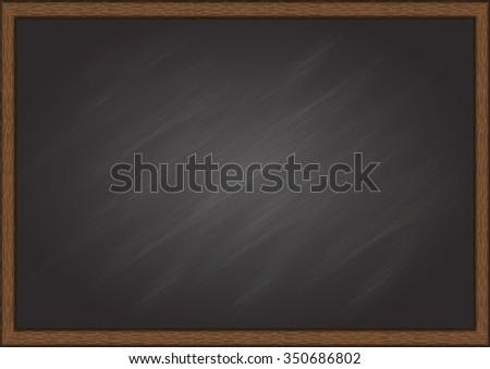 School Blackboard Texture for background - stock vector