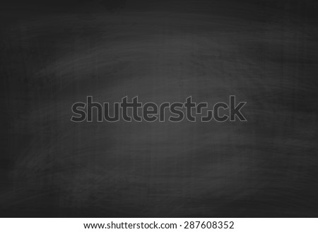 School Blackboard Texture. Vector Chalkboard Background - stock vector