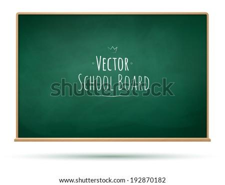 School board background. Vector illustration. - stock vector