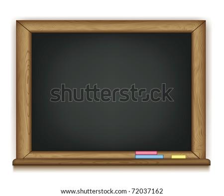 school board vector - stock vector