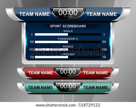 Scoreboard Stock Images RoyaltyFree Images  Vectors  Shutterstock