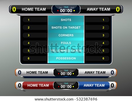 Scoreboard Stock Photos, Royalty-Free Images & Vectors - Shutterstock