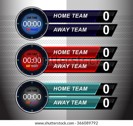 Soccer Scoreboard Stock Images, Royalty-Free Images & Vectors ...