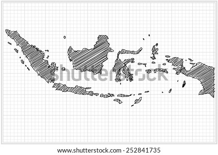 Scribble sketch world map on grid vector stock vector 252841735 scribble sketch of world map on gridvector illustration gumiabroncs Gallery