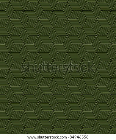 seamless abstract bamboo leaf pattern background - stock vector