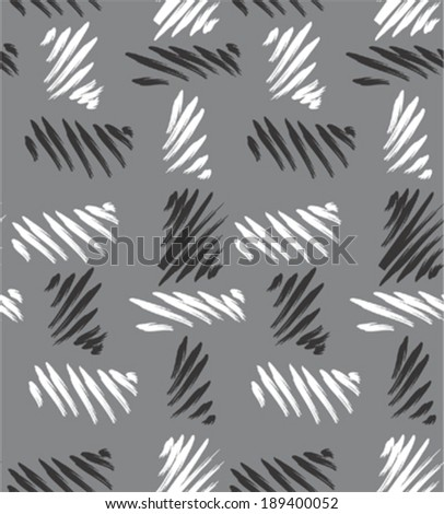 Seamless abstract burlap texture pattern  - stock vector