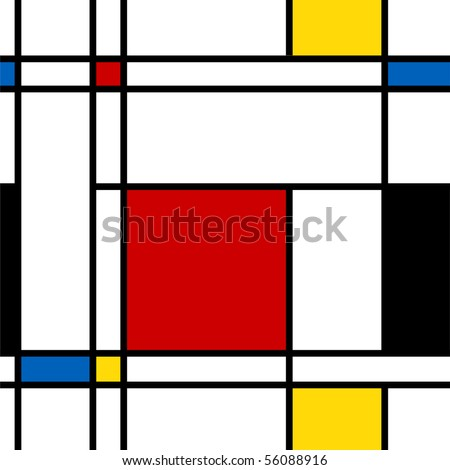 Seamless abstract geometric colorful vector pattern for continuous replicate. - stock vector