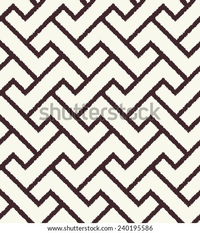 seamless abstract geometric mesh pattern - stock vector