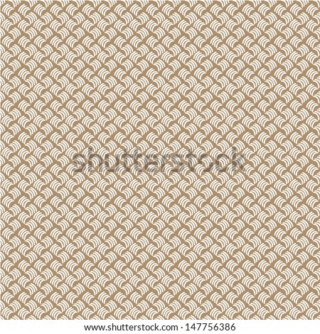 Seamless abstract hand drawn pattern in light colors. Vector illustration - stock vector