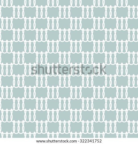 Seamless abstract lace pattern basic ornament needlework. - stock vector