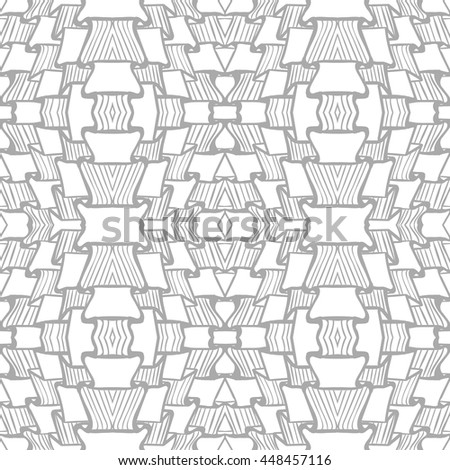 Seamless abstract line pattern can be used for wallpaper, website background, wrapping paper. Hair bright pattern. Abstract design. - stock vector