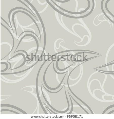 Seamless abstract modern vector pattern. - stock vector