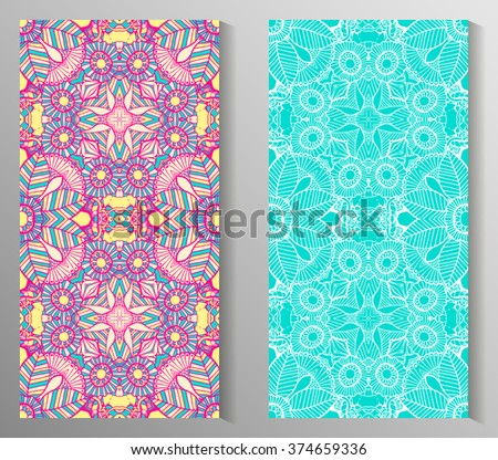Seamless abstract pattern, hand drawn texture for Wedding, Bridal, Valentine's day or Birthday Invitations. Floral background. Fabric or paper print, floral geometric background. - stock vector
