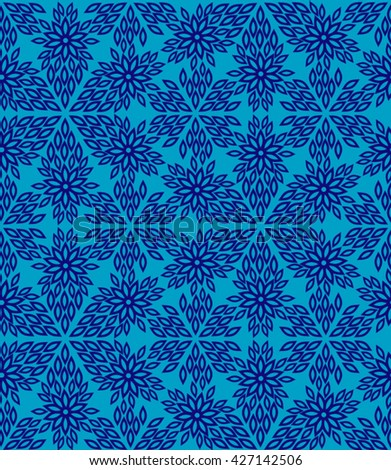 Seamless abstract pattern of the stylish lines
