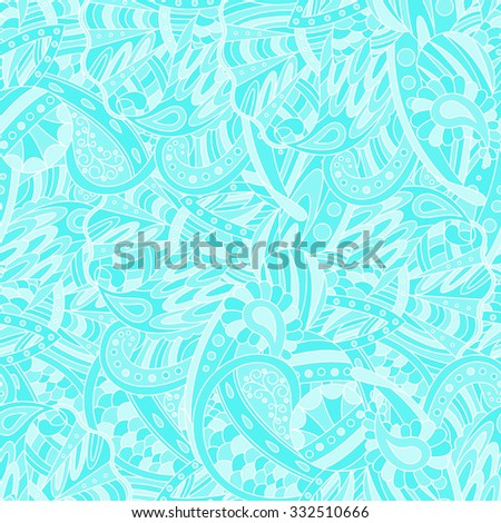 Seamless abstract  pattern. Seamless pattern can be used for wallpaper, pattern fills, web page background,surface textures. Beautiful seamless floral background