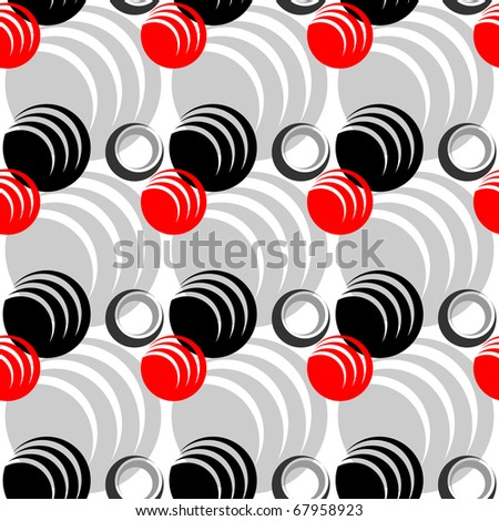 Seamless abstract pattern. Stylish graphic design. Vector art. - stock vector