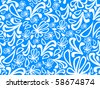 seamless abstract pattern.vector illustration - stock vector