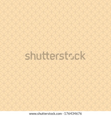 Seamless abstract pattern with circles - stock vector