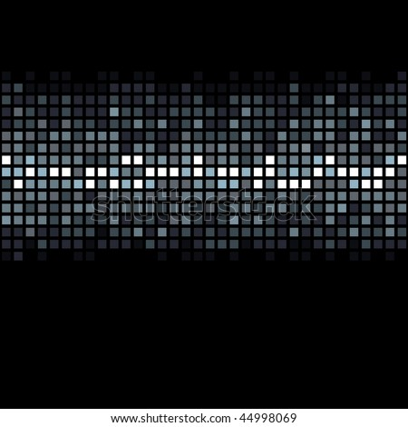 Seamless Abstract Vector Background (can be repeated seamlessly as many times as needed) - stock vector