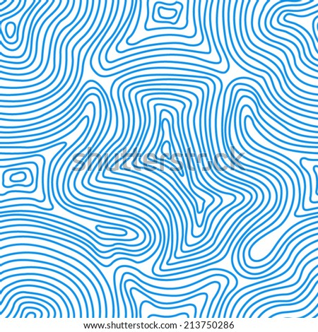 Seamless Abstract Vector Lines Pattern. Vector illustration of blue lines.