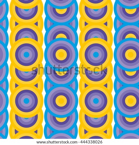 Seamless abstract vivid geometric pattern