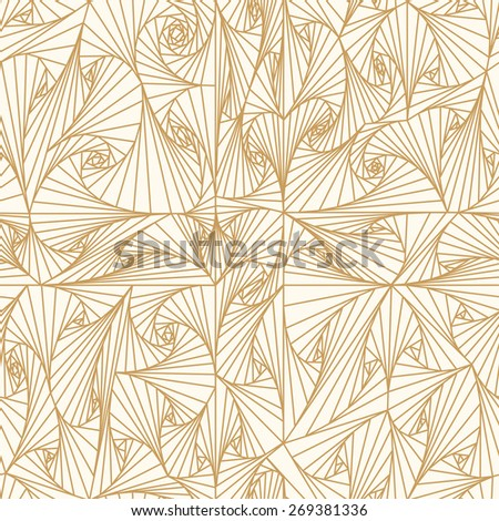 Seamless angle pattern. Can be used for wallpaper, web page background, surface textures.  - stock vector