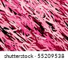 Seamless Angular pink camouflage with several shades of burgundy and pink. - stock vector