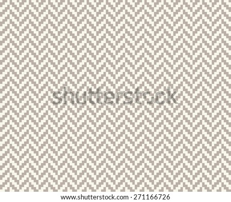 Seamless anthracite gray vintage pixel herringbone pattern vector - stock vector