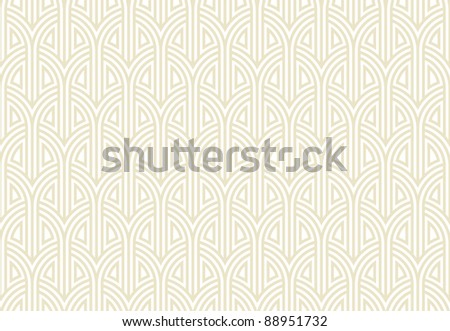 Seamless arch abstract background - pattern for continuous replicate. See more seamless backgrounds in my portfolio. - stock vector