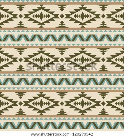 Cute Aztec Patterns Seamless Aztec Pattern on