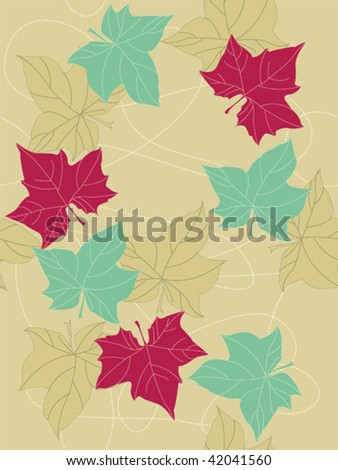Seamless background. Easy to edit vector image. - stock vector