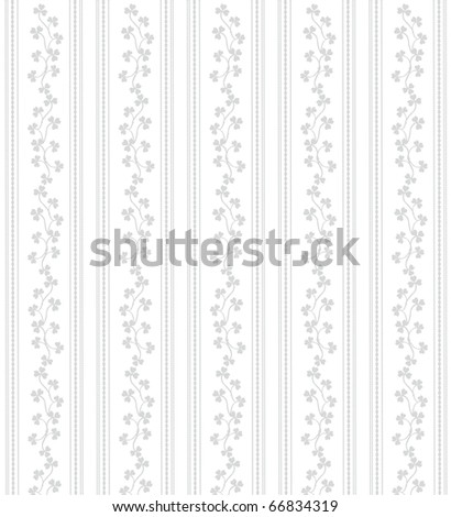 Seamless background from a floral ornament - stock vector