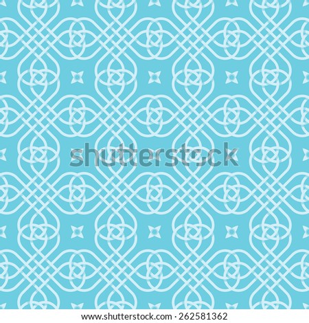 Seamless background of medieval style. Abstract texture for wallpapers and background. - stock vector