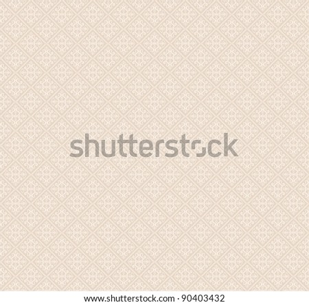 Seamless background pale beige - stock vector