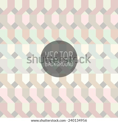 Seamless background with geometric design. Colorful Vector Illustration