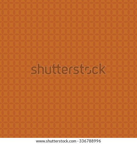 Seamless background with geometric patterns of circles - stock vector