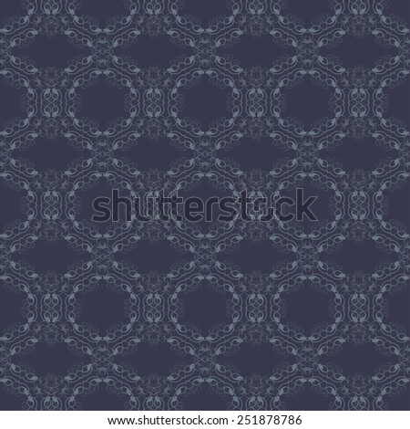 Seamless background with ornament. Vector illustration