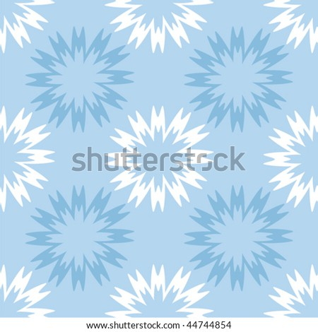 seamless background with snowflake, element for design, vector illustration - stock vector