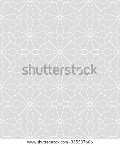 Seamless background with traditional ornament. Vector illustration.  - stock vector