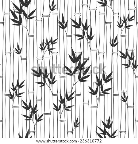 Seamless Bamboo Seamless Bamboo Pattern