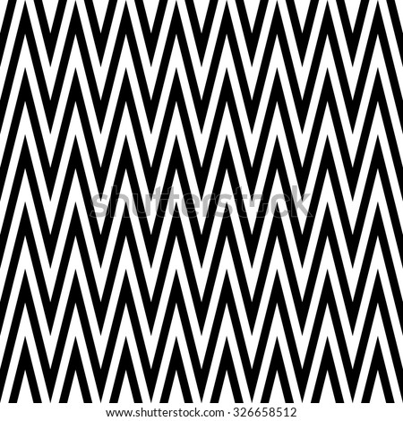 Seamless black and white zigzag textile pattern. Backgrounds & textures shop.