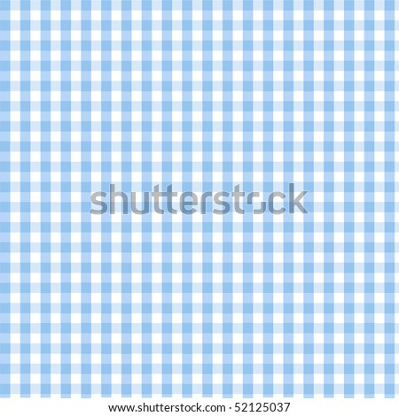 Seamless blue plaid pattern - stock vector