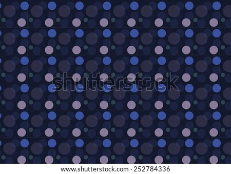 Seamless bokeh vector pattern. Can be used for textiles, accessories; decorative paper, stationery,  wrapping etc. Swatch for seamless pattern included. - stock vector