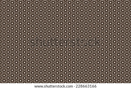 Seamless brown african pattern vector - stock vector