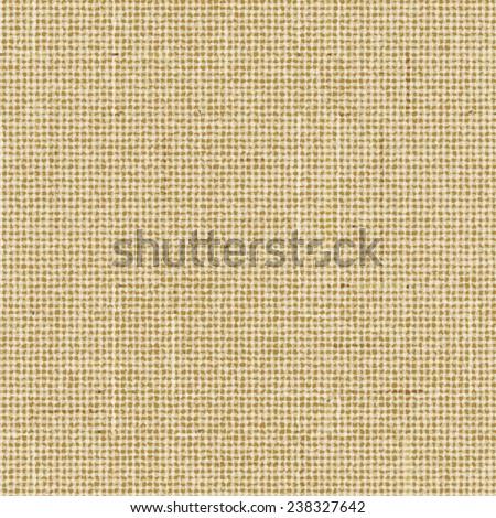 Seamless brown rough sack texture Vector illustration. - stock vector