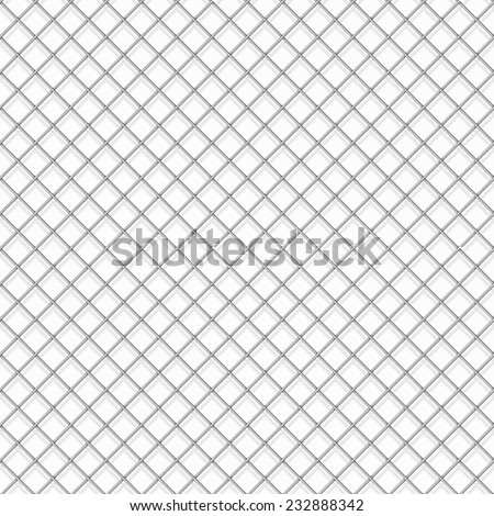 Seamless cage texture for background. - stock vector