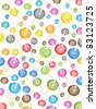 seamless candy pattern - stock vector