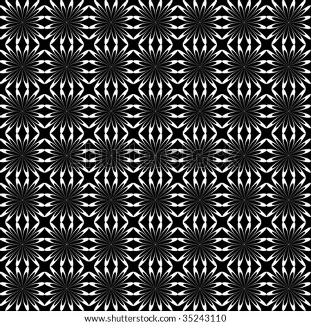 Seamless checked pattern. Vector. - stock vector